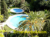Jardines del Mar Marbella rental apartment swimming pools